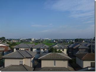 熊谷市今井M樣 東京スカイツリー方向の景色。