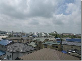 久喜市鷲宮中央S様 東京タワー方向の景色(完了)。