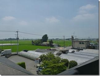 行田市埼玉H樣 東京スカイツリー方向の景色(完了)。
