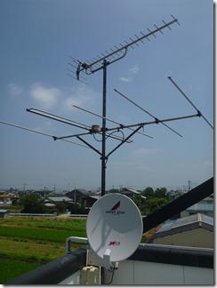 行田市埼玉H樣 アンテナ工事完了。