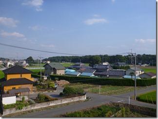 熊谷市万吉O様 東京タワー方向の景色(完了)。