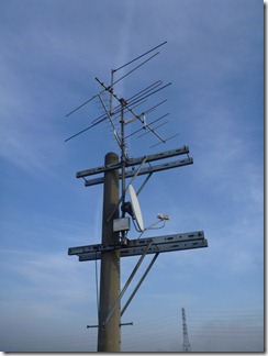 鴻巣市屈巣K樣 アンテナ工事完了。