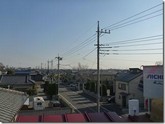 久喜市栗橋東K樣 東京タワー方向の景色(完了)。
