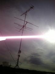 熊谷C様アンテナ立替完了(UHF、VHFアンテナ)。.jpg