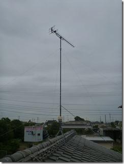 鴻巣市屈巣W樣 アンテナ工事完了。