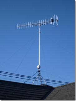 熊谷市久保島K樣 アンテナ工事完了。