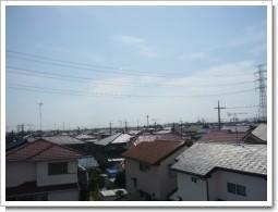 熊谷市玉井N様 受信方向(東京タワー方向)の景色。.JPG