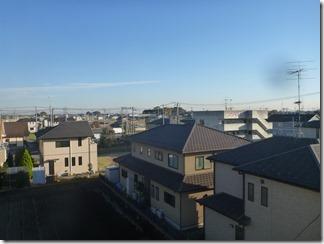 鴻巣市赤城S様 東京スカイツリー方向の景色(完了)。