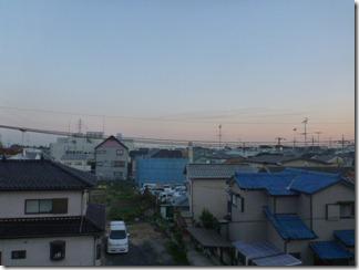 鴻巣市上谷Y様 東京タワー方向の景色(完了)。