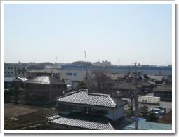 加須市南篠崎A様 受信方向(東京タワー方向)の景色。.JPG