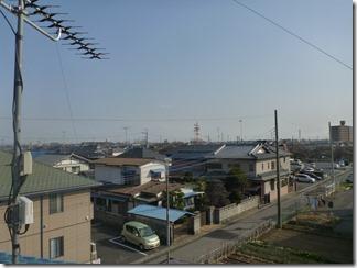 鴻巣市鎌塚T樣 東京タワー方向の景色。