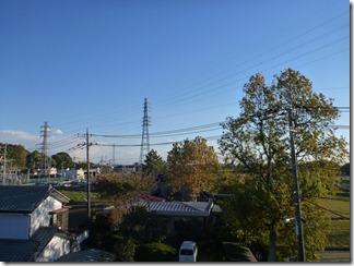 久喜市西大輪T様 東京タワー方向の景色(完了)。