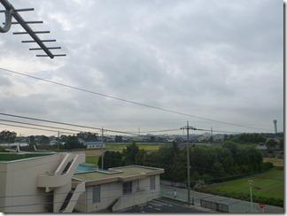 行田市下須戸I様 東京タワー方向の景色。