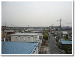 上尾市上H様 受信方向(東京タワー方向)の景色。.JPG