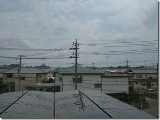 北本市西高尾N樣 東京スカイツリー方向の景色(完了)。