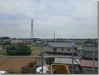 白岡町上野田T様 東京タワー方向の景色(完了)。