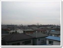 上尾市東町S様 受信方向(東京タワー方向)の景色。.JPG