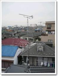 上尾市東町S様 アンテナ工事完了。.JPG