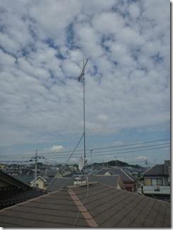 熊谷市船木台H樣 アンテナ工事完了。