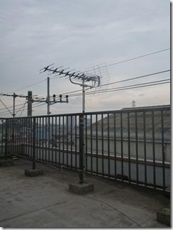 上尾市緑ヶ丘H樣 アンテナ工事完了。