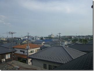 久喜市鷲宮中央A樣 東京スカイツリー方向の景色(完了)。