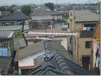 久喜市鷲宮中央A樣 アンテナ工事完了。
