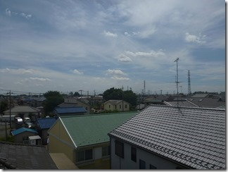 北本市宮内A樣 東京スカイツリー方向の景色(完了)。