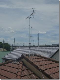 北本市宮内A樣 アンテナ工事完了。
