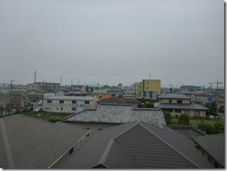 鴻巣市人形A樣 東京スカイツリー方向の景色。
