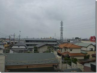 鴻巣市天神F樣 東京スカイツリー方向の景色(完了)。