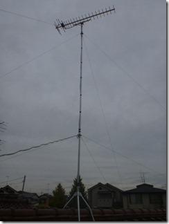 鴻巣市氷川町F様 アンテナ工事完了。