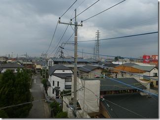 鴻巣市天神F樣 東京スカイツリー方向の景色。