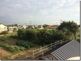 鴻巣市広田H様 東京スカイツリー方向の景色(完了)。
