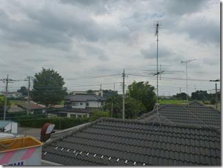 羽生市町屋I樣 東京スカイツリー方向の景色(完了)。