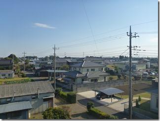 鴻巣市屈巣I様 東京スカイツリー方向の景色(完了)。