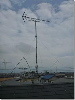 久喜市栗橋中央I樣 アンテナ工事完了。