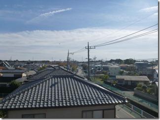 北本市本町K様 東京タワー方向の景色(完了)。