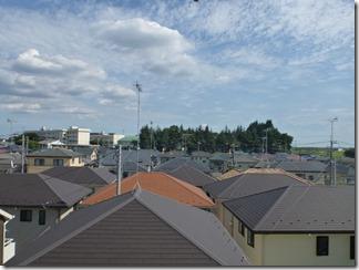 鴻巣市大間K様 東京タワー方向の景色(完了)。