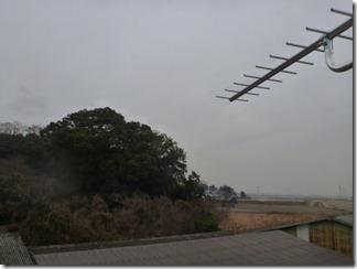 鴻巣市北根K様 前橋局方向の景色(完了)。