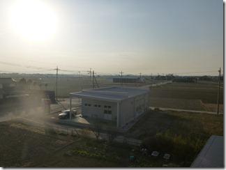 行田市犬塚K様 児玉局方向の景色(完了)。