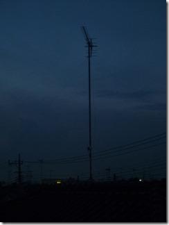 加須市南町K樣 アンテナ工事完了。