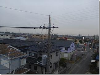 羽生市東K樣 東京スカイツリー方向の景色。