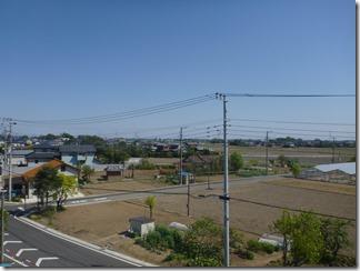 加須市上崎K樣 東京スカイツリー方向の景色。