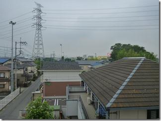 熊谷市高柳K樣 児玉局方向の景色(完了)。