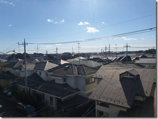 加須市陽光台K様 東京タワー方向の景色(完了)。