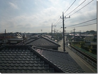 北本市本町K様 東京タワー方向の景色。