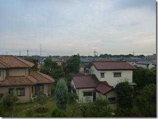 白岡町古久喜M様 東京タワー方向の景色(完了)。