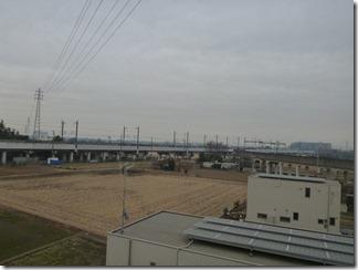 久喜市上川崎M様 東京タワー方向の景色(完了)。