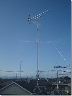 行田市矢場M樣 アンテナ工事完了。