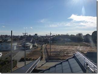 鴻巣市大間M様 東京タワー方向の景色(完了)。